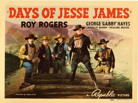 Days of Jesse James (1939)